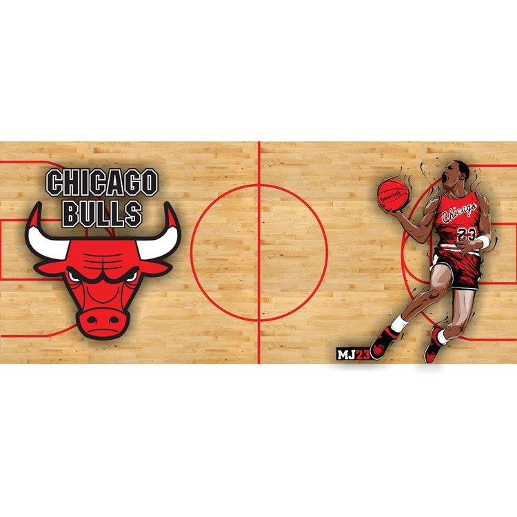 Diseño taza chicago Bulls