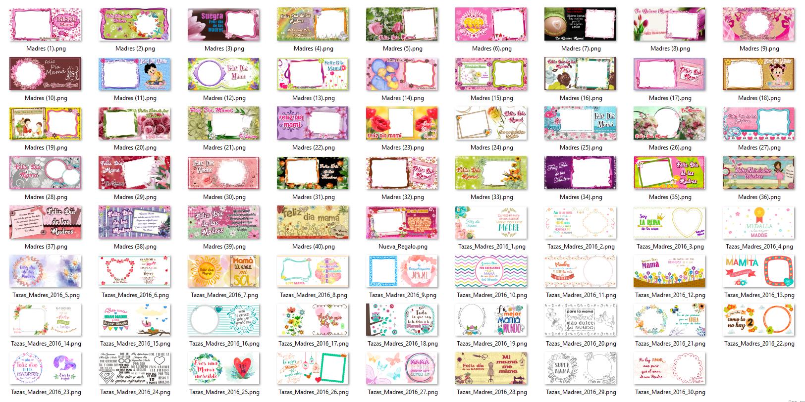 Diseños Tazas Dia de las Madres 46 Plantillas