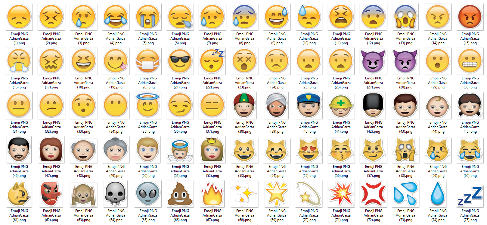 emojis whatsapp pack png sin fondo