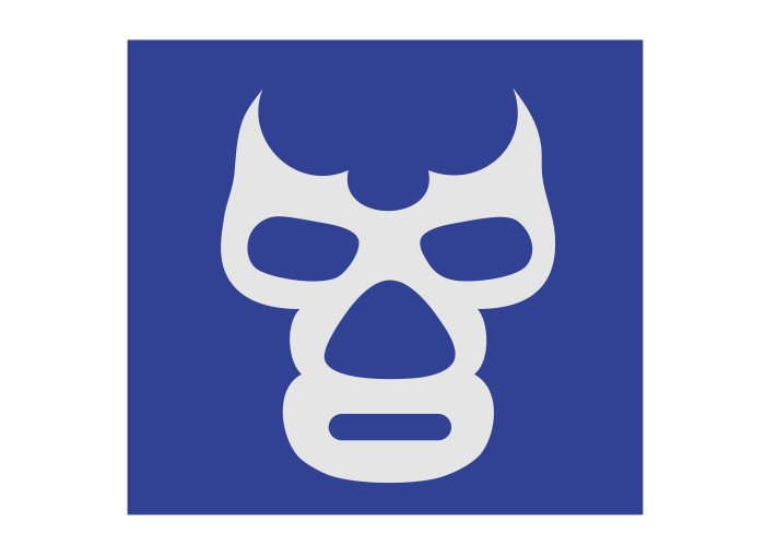 Blue demon mascara