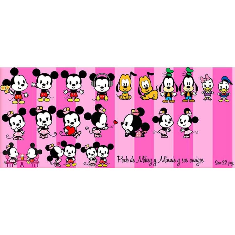 amigos mickey mouse