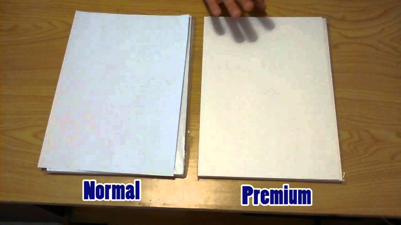 Tipos papel sublimacion y diferencias