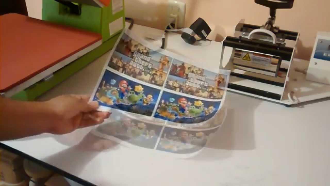 vinil sublimacion stickers transparente