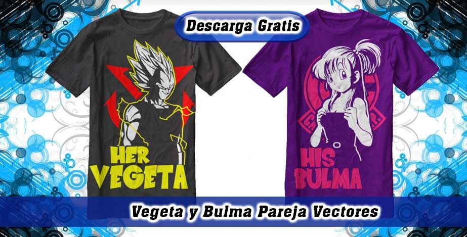 Her Vegeta His Bulma vectores