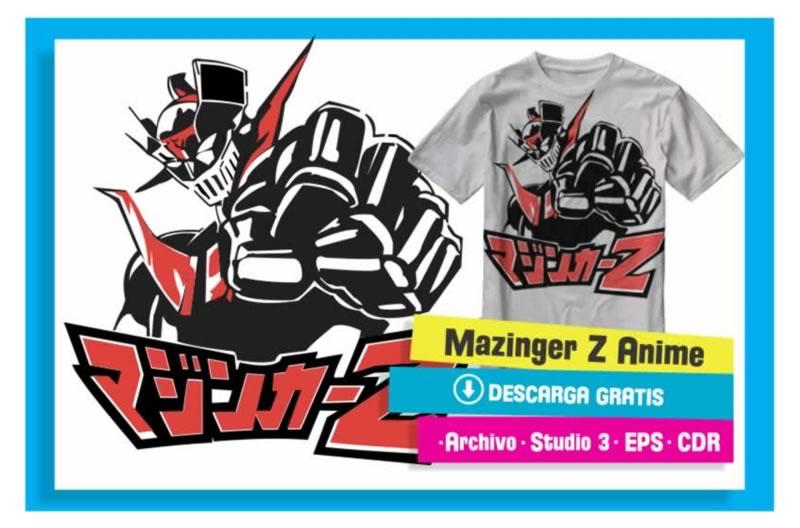 Mazinger Z Anime Vectores Cameo Studio