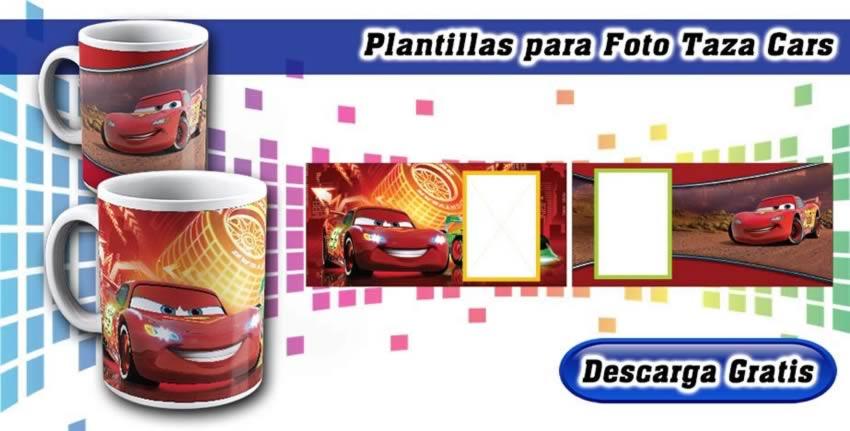Diseños Tazas Disney Cars Espacio Foto
