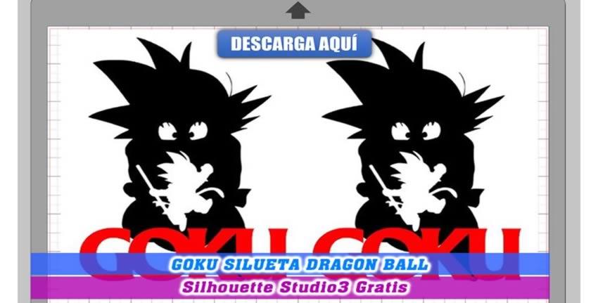 Goku Silueta Dragon Ball Cameo 3