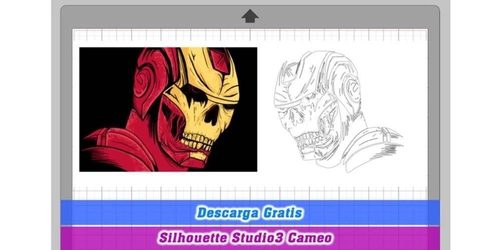 iron man zombie silhouette cameo 3