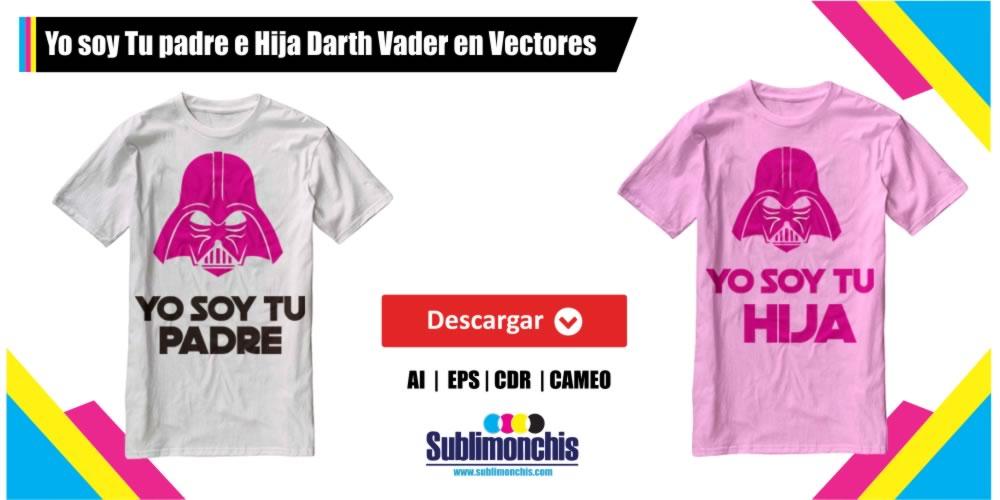 Darth Vader Yo soy tu Padre  e Hija en Vectores