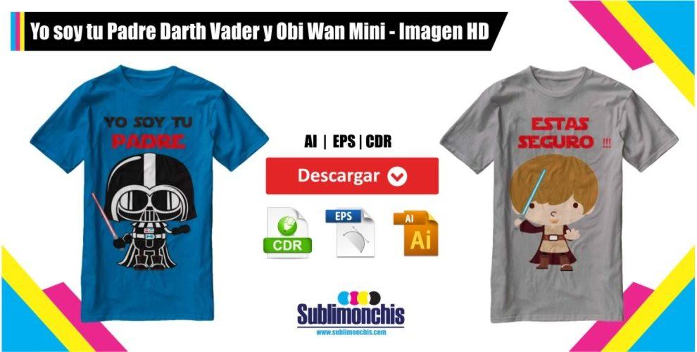 Yo soy tu Padre Darth Vader y Obi Wan