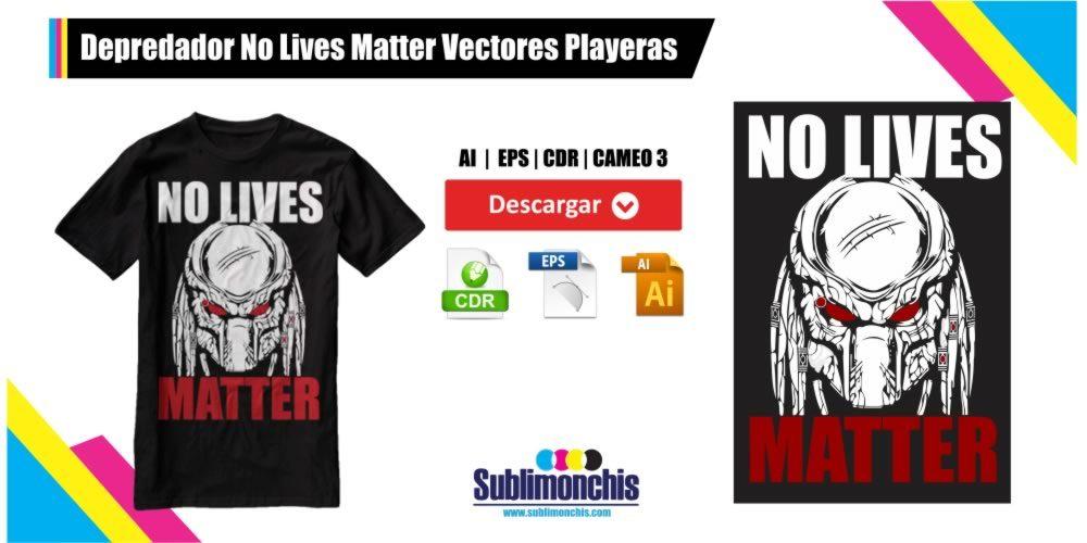 Depredador Vectores Playeras