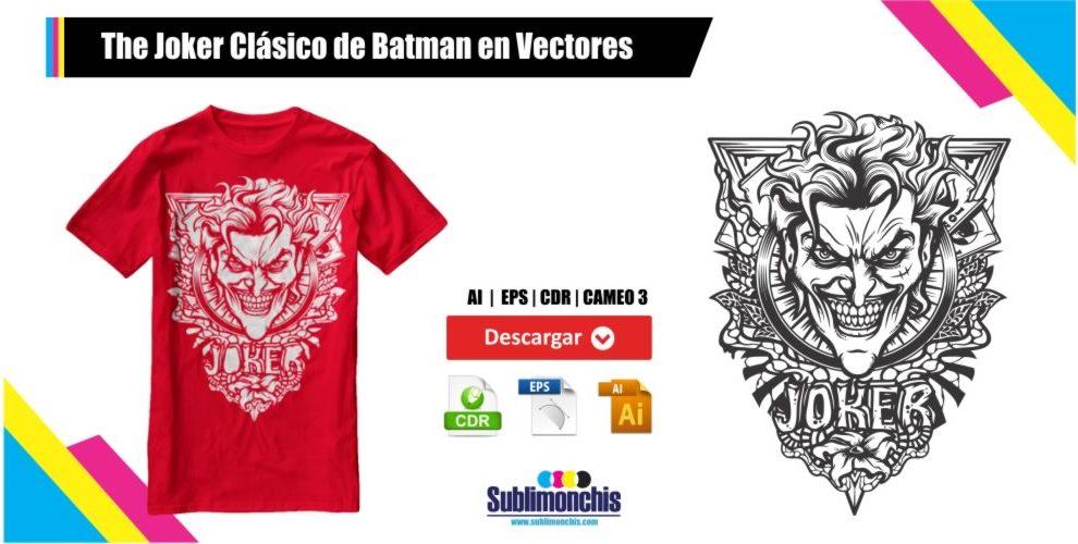 Joker Clasico de Batman en Vectores