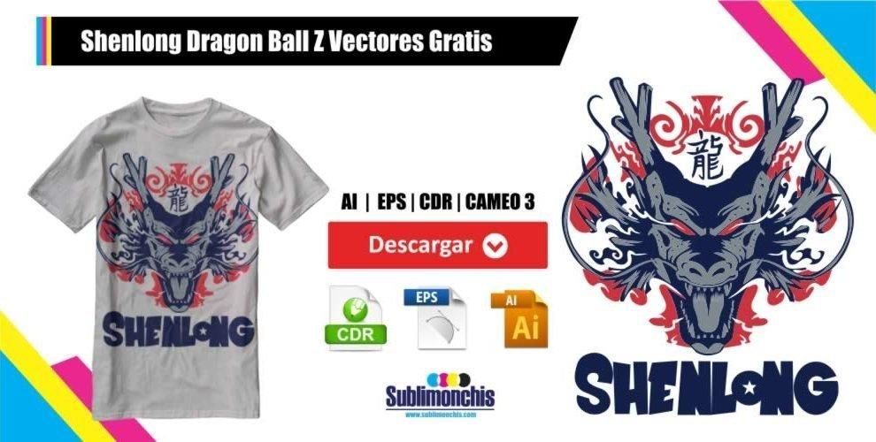 Shenlong Dragon Ball Z Vectores