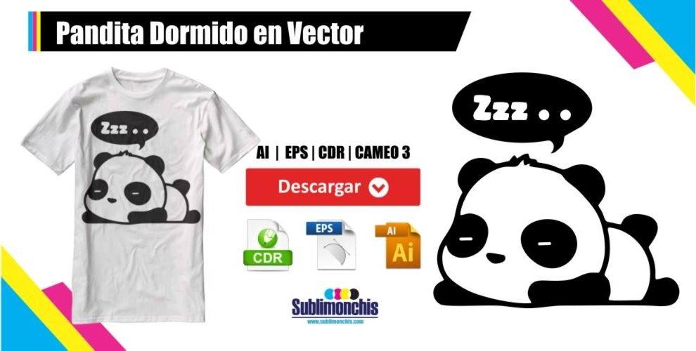 Pandita Dormido en Vector
