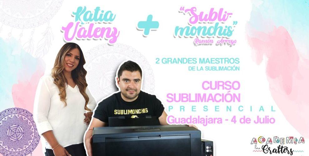 Curso de Sublimacion Guadalajara Sublimonchis