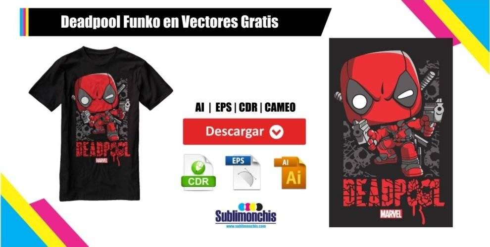 Deadpool Funko en Vectores Gratis